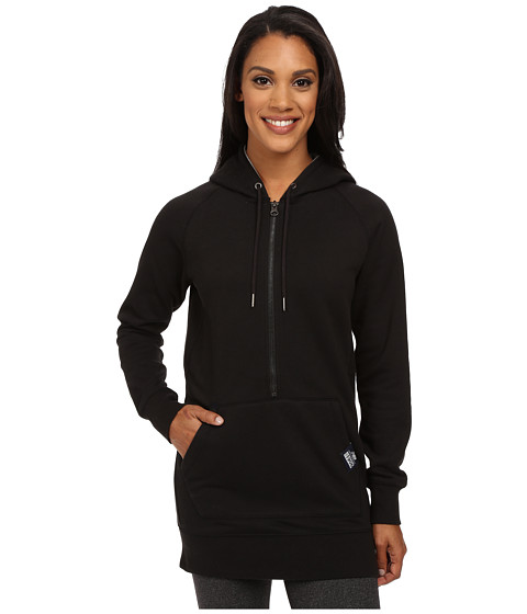 New Balance - Essentials 1/2 Zip Hoodie (Black) Women's Sweatshirt