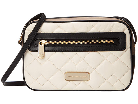 Marc by Marc Jacobs - Sally Moto Quilted Handbag (Leche Multi) Handbags