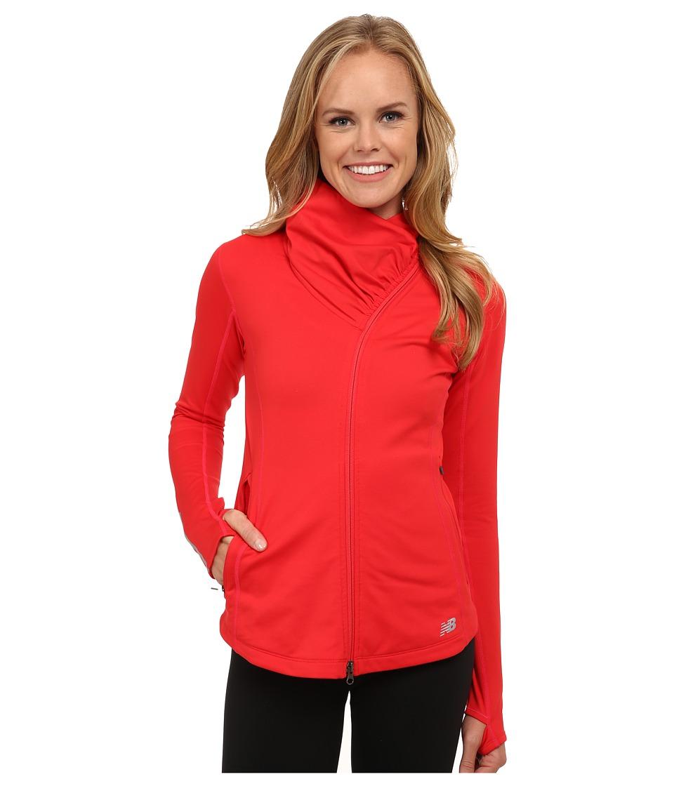 New Balance - Heat En Route Jacket (Cerise) Women