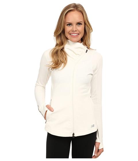 New Balance - Heat En Route Jacket (Sea Salt) Women's Coat