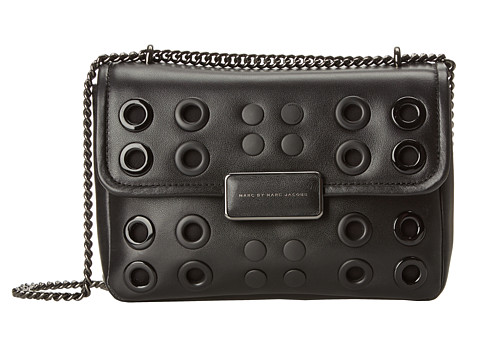 Marc by Marc Jacobs - Rebel Grommets Rebel 24 (Black) Handbags