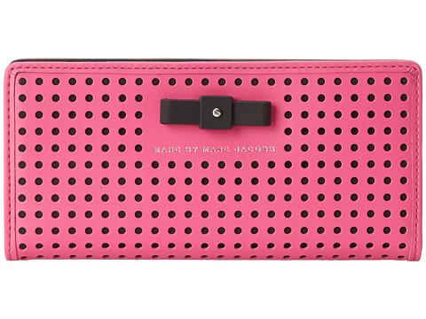 Marc by Marc Jacobs - Luna Tomoko Wallet (Fuchsia Purple) Wallet Handbags