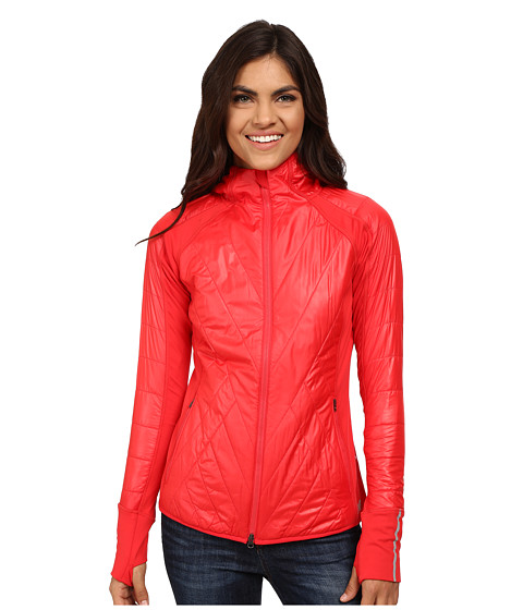 New Balance - Quilted Heat Hybrid Jacket (Cerise) Women