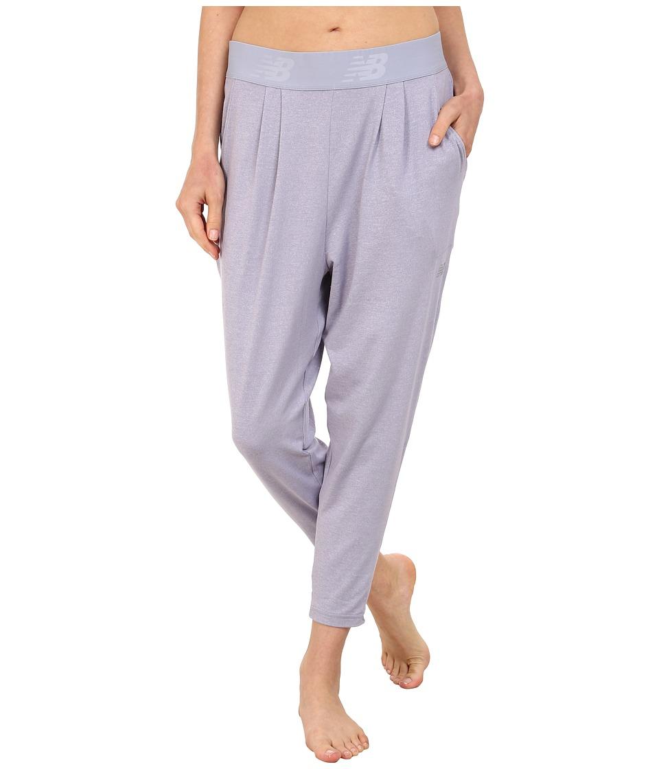 New Balance - Slouch Dance Pant (Daybreak Heather) Women's Casual Pants
