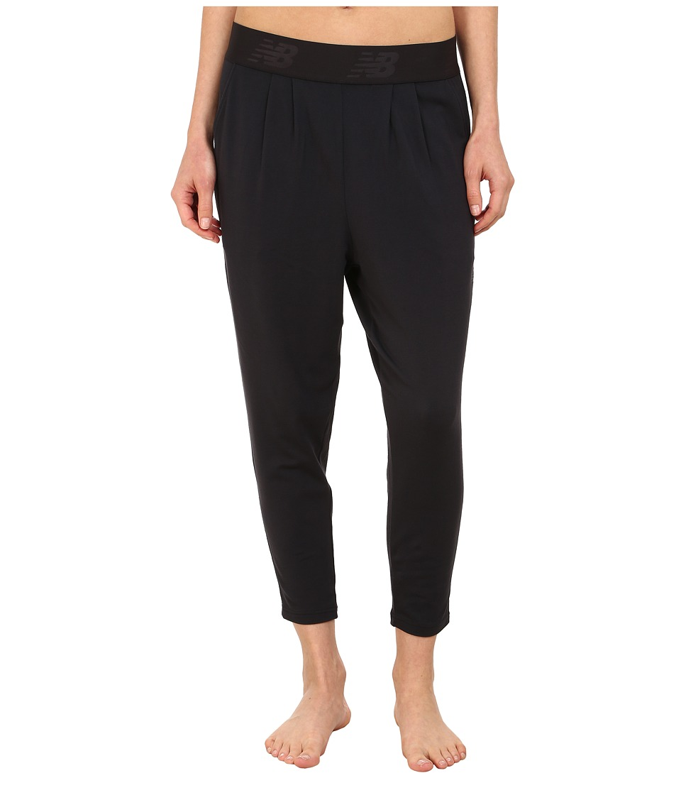 New Balance - Slouch Dance Pant (Black) Women's Casual Pants