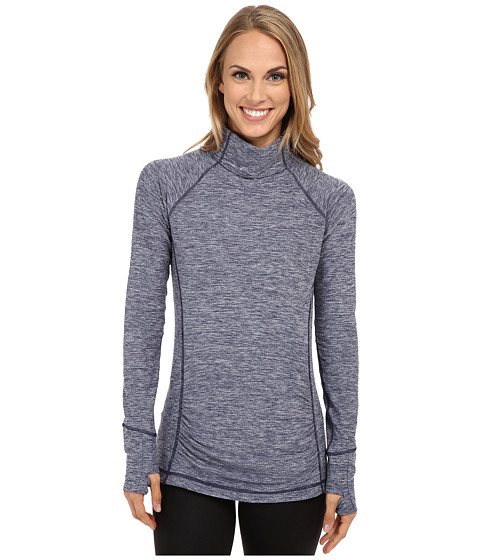 New Balance - Space Dye Knit Pullover (Pigment Heahter) Women