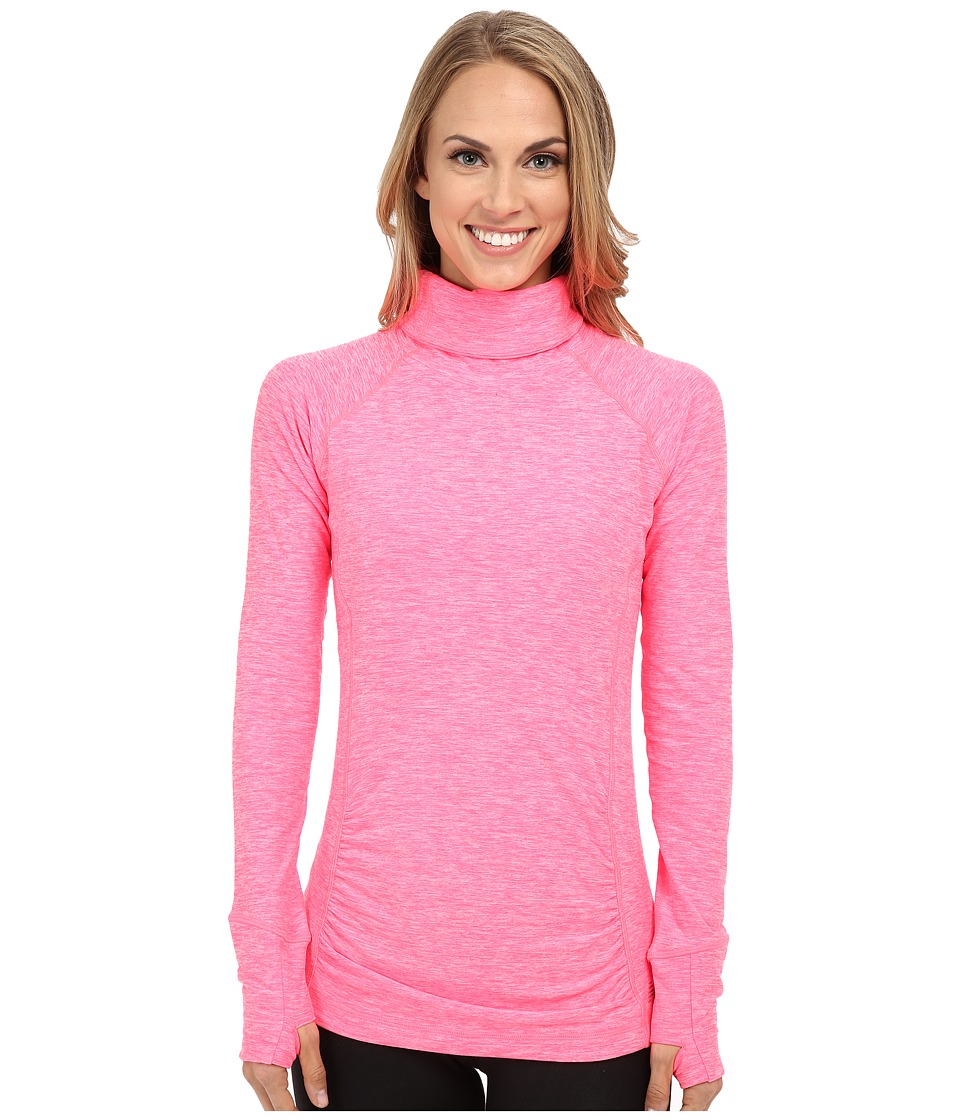 New Balance - Space Dye Knit Pullover (Ping Zing Heather) Women