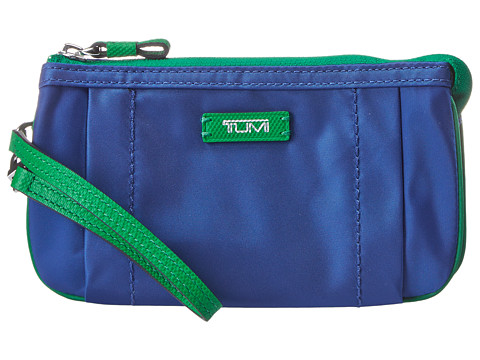 Tumi - Journey Vienna Triple Comp Wristlet (Atlantic) Wristlet Handbags