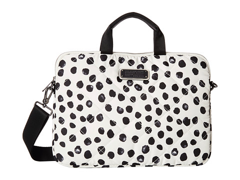 Marc by Marc Jacobs - Crosby Quilt Nylon Deelite Dot 13 Commuter Bag (Leche Multi) Computer Bags