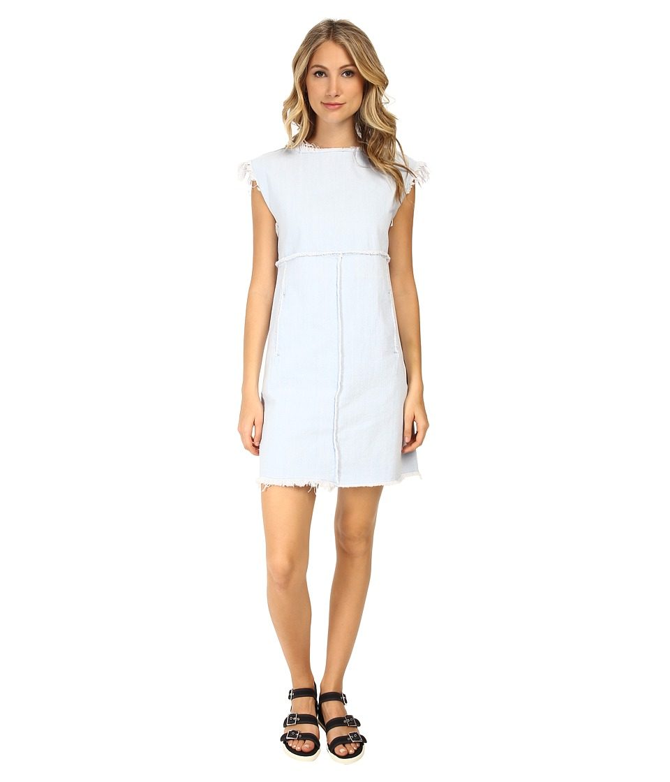 Marc by Marc Jacobs - Fray Short Sleeve Dress (Sunbleached) Women's Dress