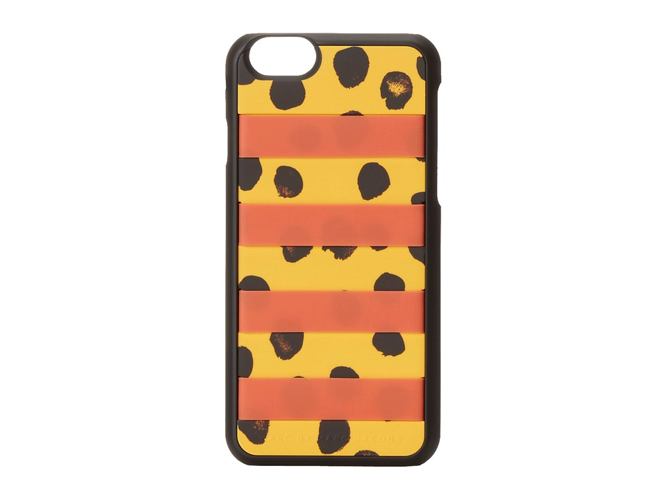 Marc by Marc Jacobs - Card Slot Deelite Dot Phone Case for iPhone 6 (Sundance Orange Multi) Cell Phone Case