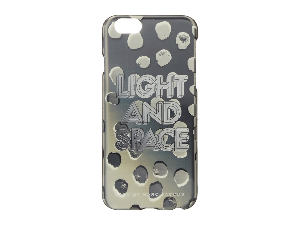 Marc by Marc Jacobs - Lenticular Light Space Dee-Lite Dot Phone Case for iPhone 6 (Black Multi) Cell Phone Case