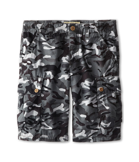 Lucky Brand Kids - Quality Camo Cargo Shorts (Big Kids) (Magnet) Boy's Shorts