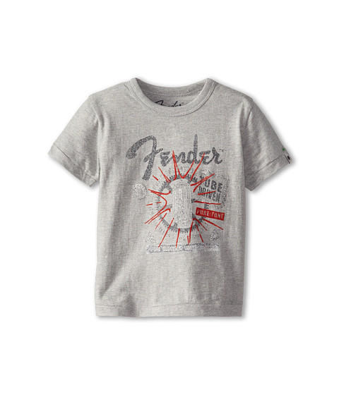 Lucky Brand Kids - Tube Driven Tee (Toddler) (Heather Light) Boy's T Shirt
