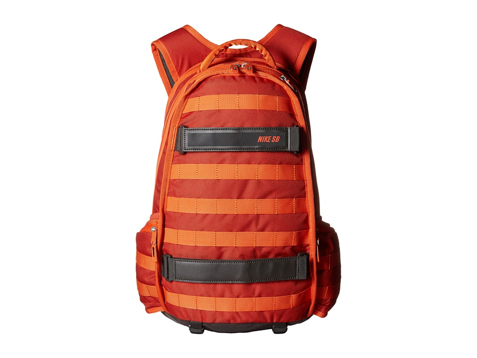 Nike SB - RPM (Cinnabar/Deep Pewter/University Orange) Backpack Bags