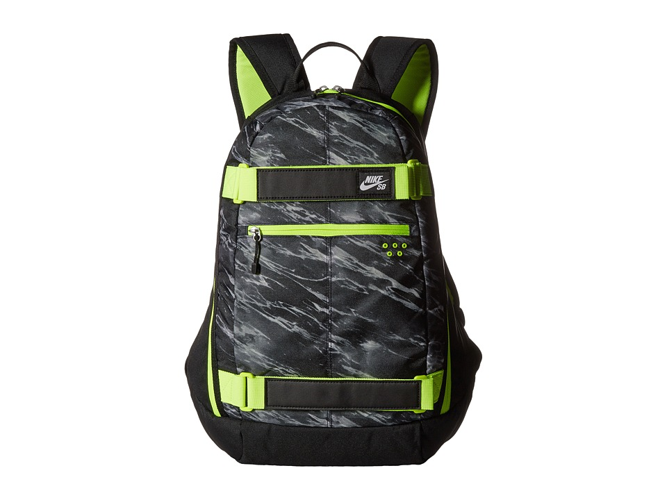 Nike SB - Embarca Medium Backpack (Black/Black/White) Backpack Bags