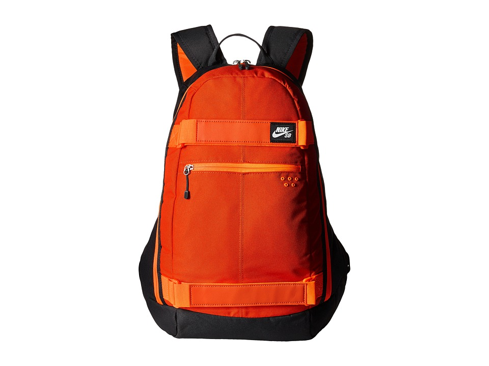 Nike SB - Embarca Medium Backpack (University Orange/Anthracite/White) Backpack Bags