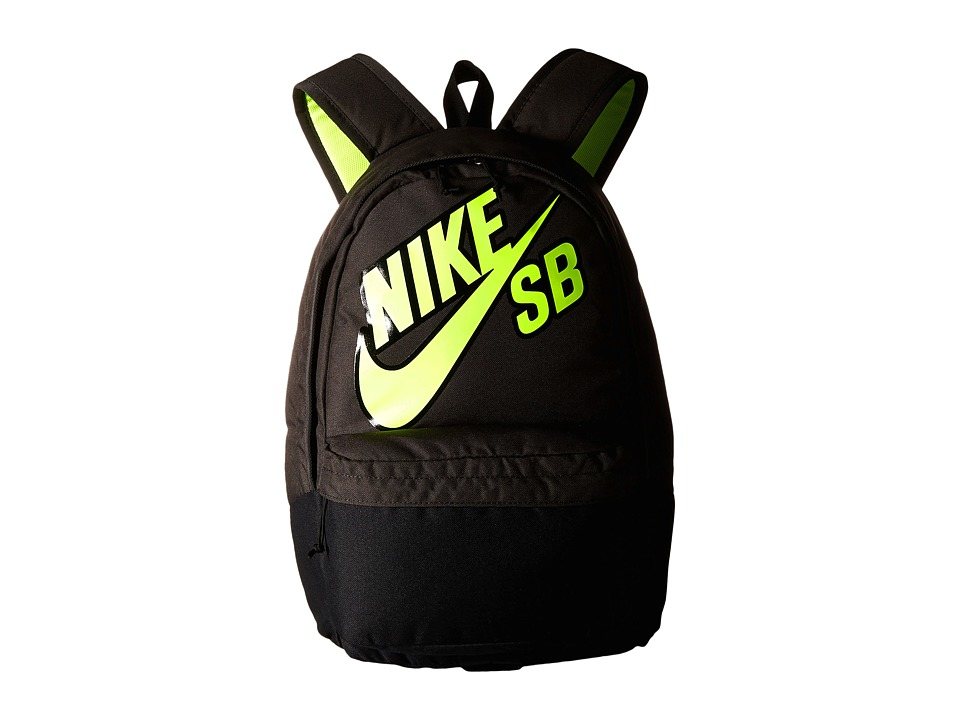 Nike SB - Piedmont Backpack (Deep Pewter/Black/Volt) Backpack Bags