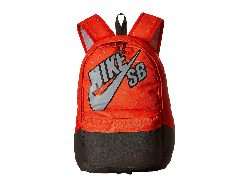 Nike SB - Piedmont Backpack (Team Orange/Deep Pewter/Wolf Grey) Backpack Bags