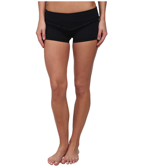 Tonic - Mini Ruffle Short (Black) Women
