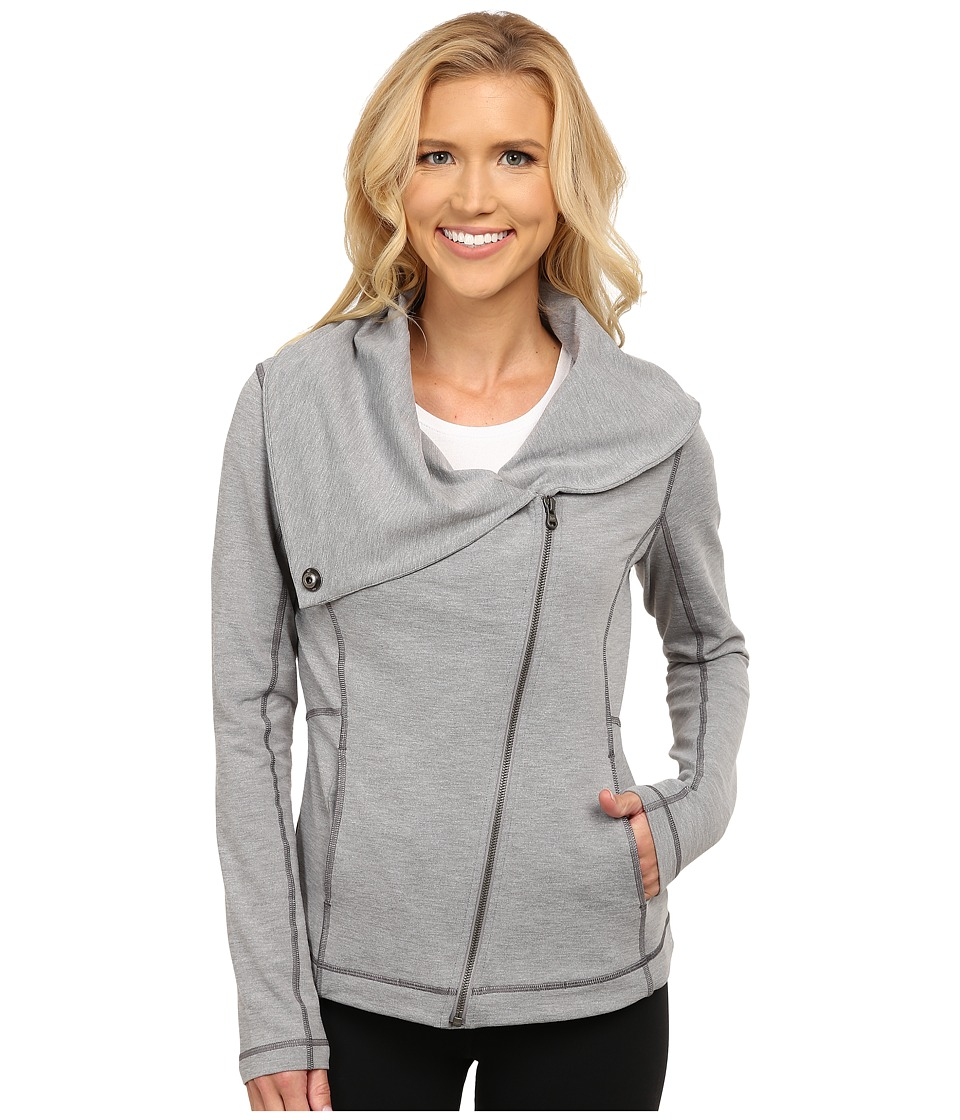 Lucy - Hatha Jacket (Dove Grey Tonal Heather) Women's Coat