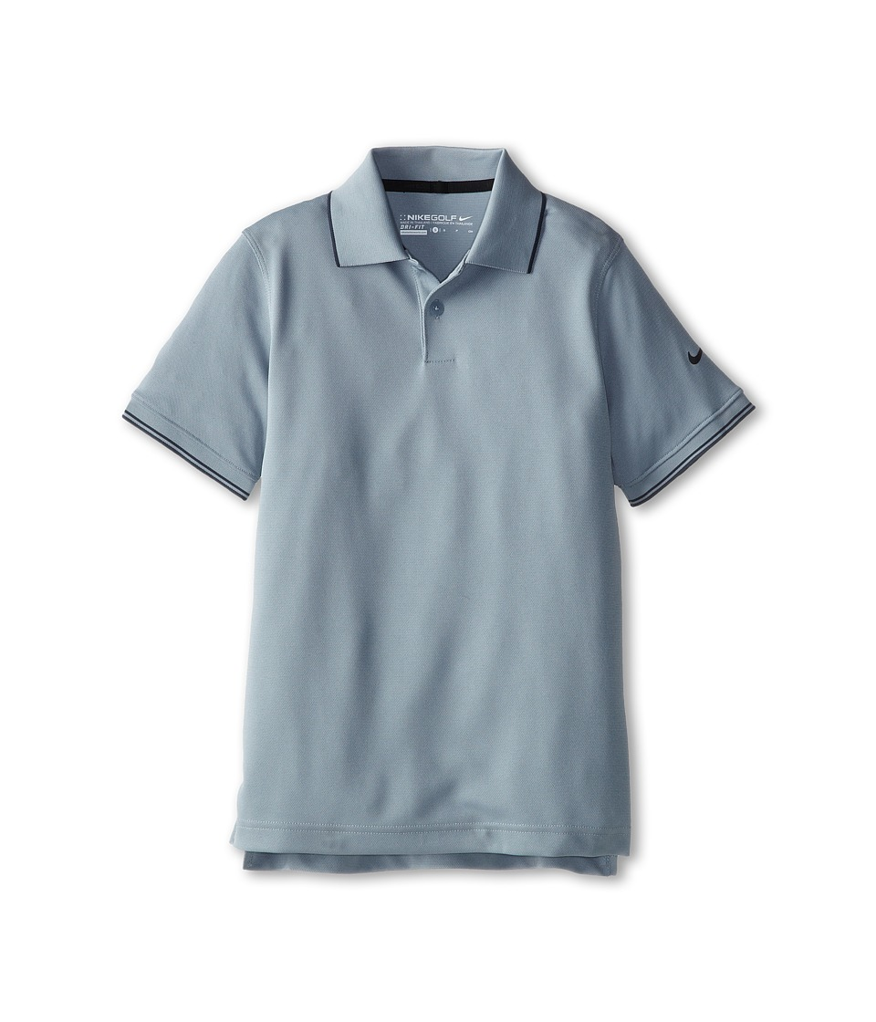 Nike Kids - Radar Polo (Big Kids) (Dove Grey/Anthracite) Boy