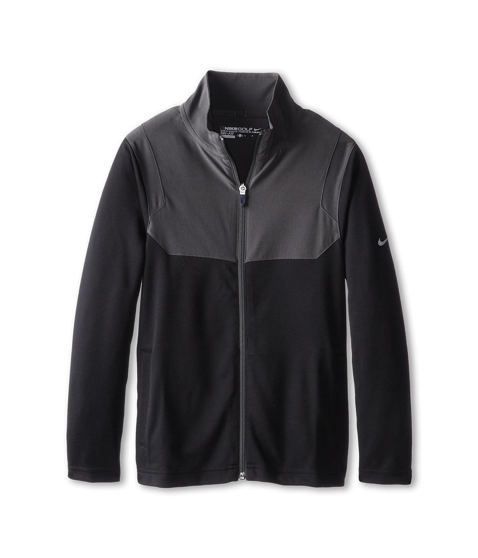Nike Kids - Full-Zip Jacket (Big Kids) (Black/Wolf Grey) Boy's Coat