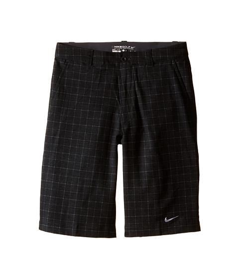 Nike Kids - Plaid Short (Big Kids) (Black/Wolf Grey) Boy's Shorts