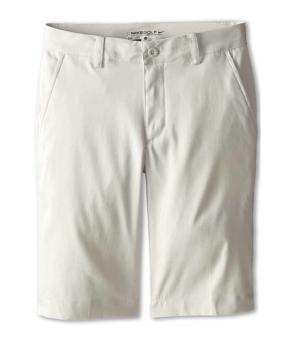 Nike Kids - Flat Front Short (Big Kids) (Light Bone/Light Bone) Boy's Shorts