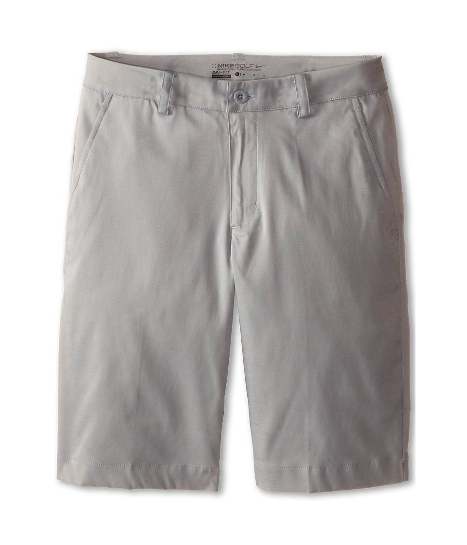 Nike Kids - Flat Front Short (Big Kids) (Dove Grey/Dove Grey) Boy