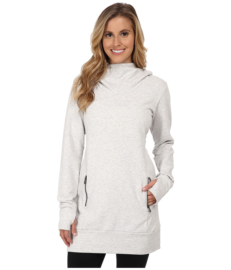 Lucy - Inner Light Pullover (Dove Grey Heather) Women's Long Sleeve Pullover