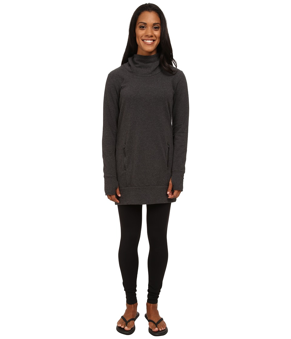 Lucy - Inner Light Pullover (Asphalt Heather) Women's Long Sleeve Pullover