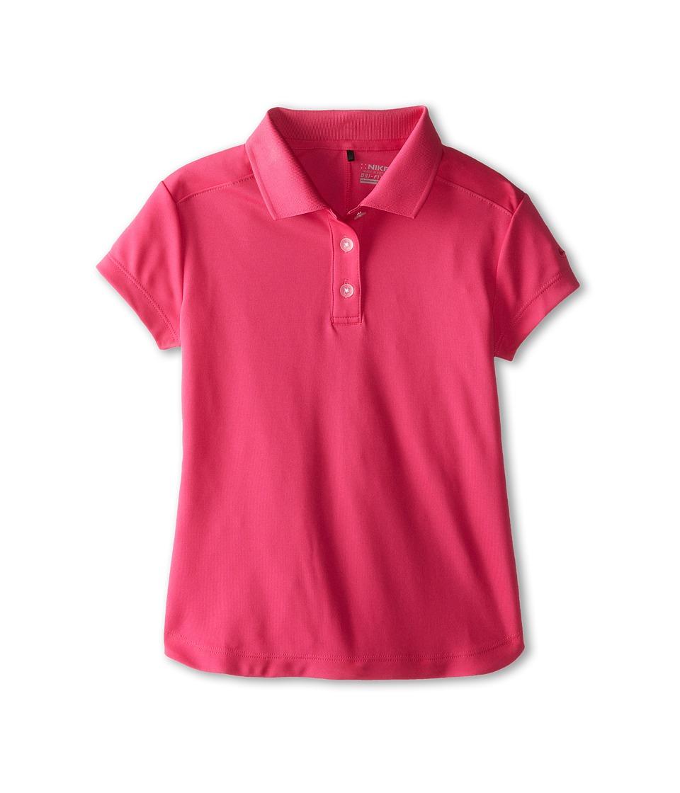 Nike Kids - Victory Polo (Big Kids) (Hot Pink/Fireberry) Girl