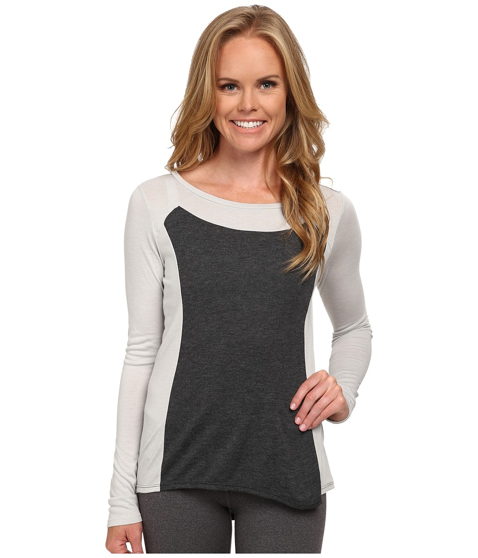 Lucy - Push The Tempo Long Sleeve (Dove Grey) Women's Long Sleeve Pullover
