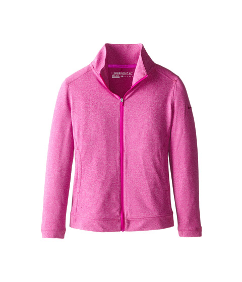 Nike Kids - Dri-Fit Jacket (Little Kids/Big Kids) (Fuchsia Flash/Fuchsia Flash/Fuchsia Flash) Girl's Long Sleeve Pullover