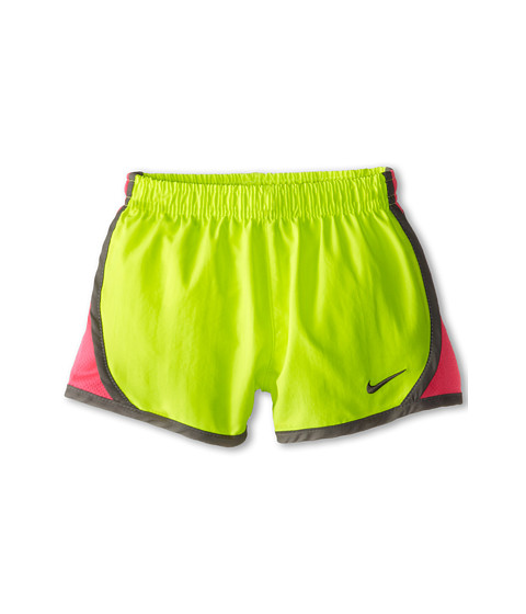 Nike Kids - Tempo Short (Toddler) (Volt/Hyper Pink) Girl