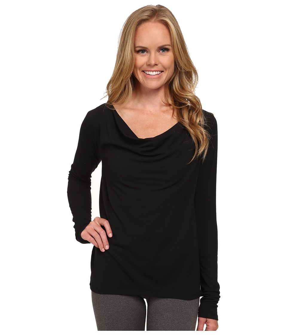 Lucy - Enlightening Long Sleeve Top (Lucy Black) Women's Long Sleeve Pullover