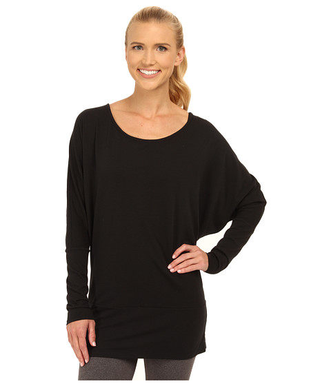 Lucy - Yoga Girl L/S (Lucy Black) Women's Long Sleeve Pullover