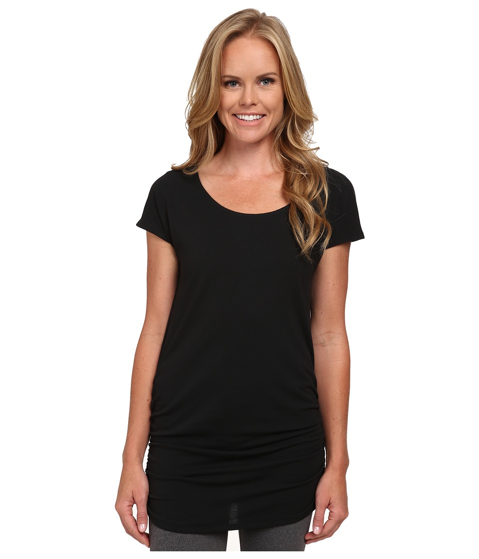 Lucy - Yoga Girl Tunic Top (Lucy Black) Women's Workout