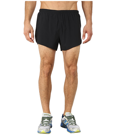 New Balance - Impact 3 Split Short (Black) Men's Shorts