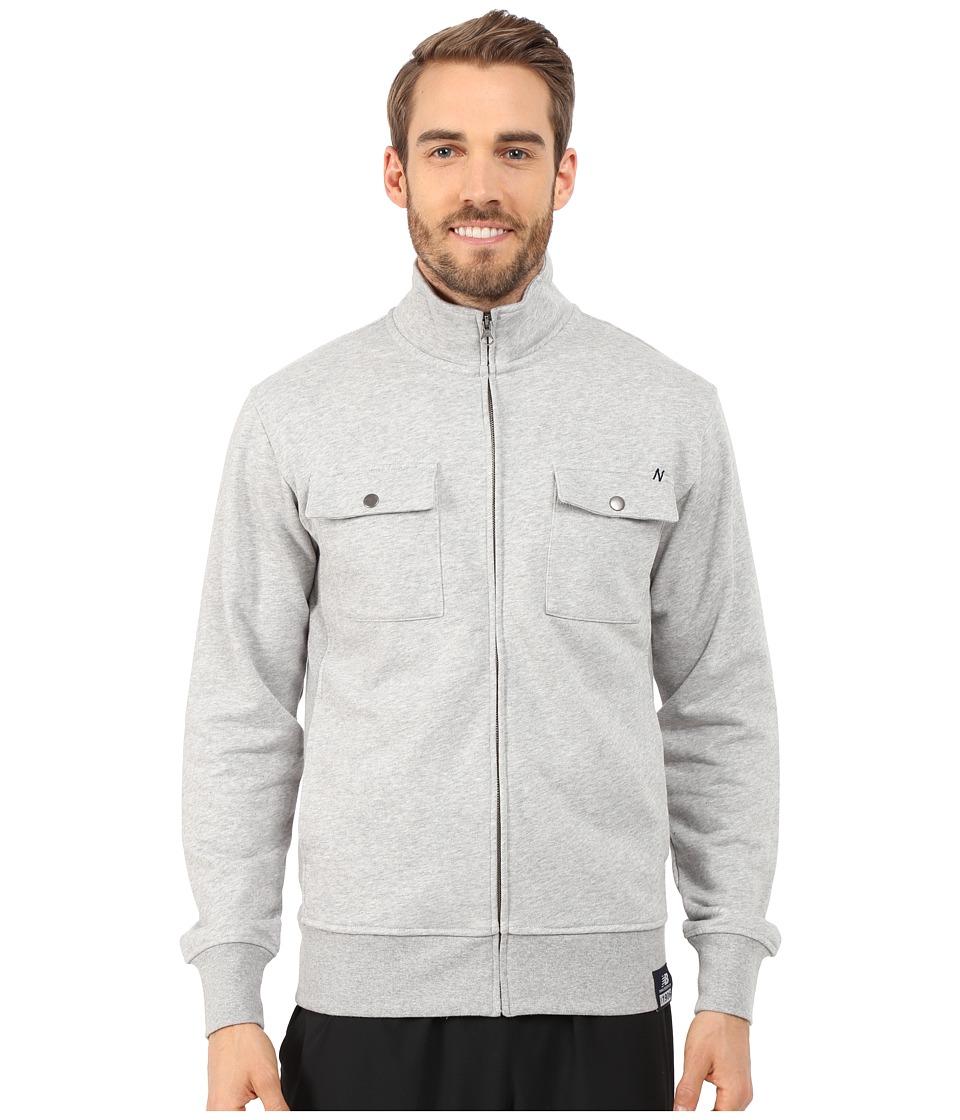 New Balance - Fleece Jacket (Athletic Grey) Men