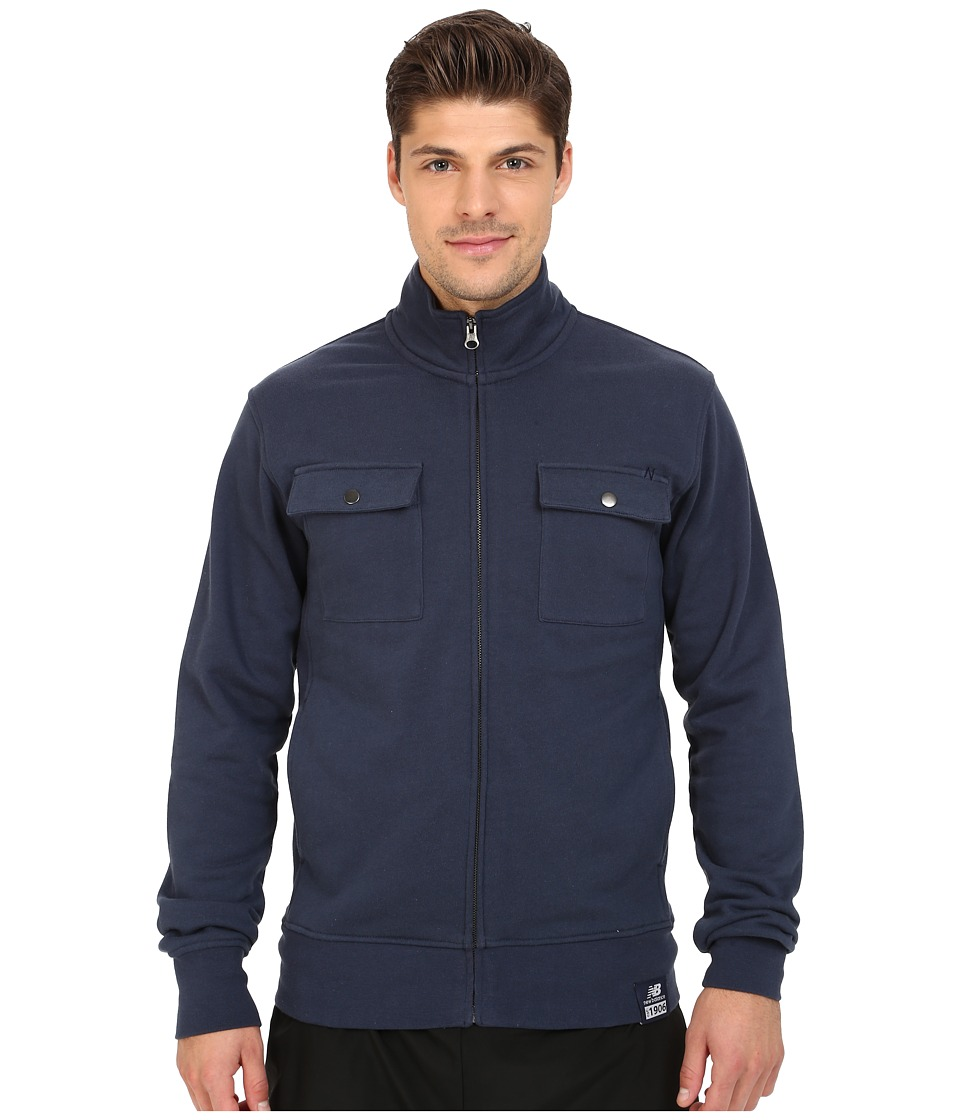 New Balance - Fleece Jacket (Navy) Men's Jacket
