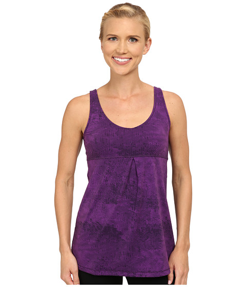 Lucy - Core Up Tunic (Purple Orchid Ripple Print) Women