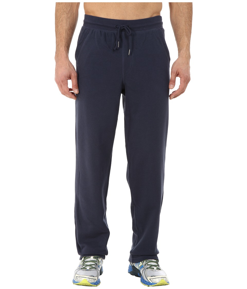 New Balance - Fleece Pant (Navy) Men's Casual Pants