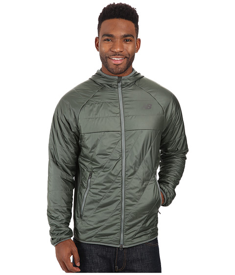 New Balance - NB Heat Hybrid Jacket (Slate Green/Defense Green) Men's Jacket