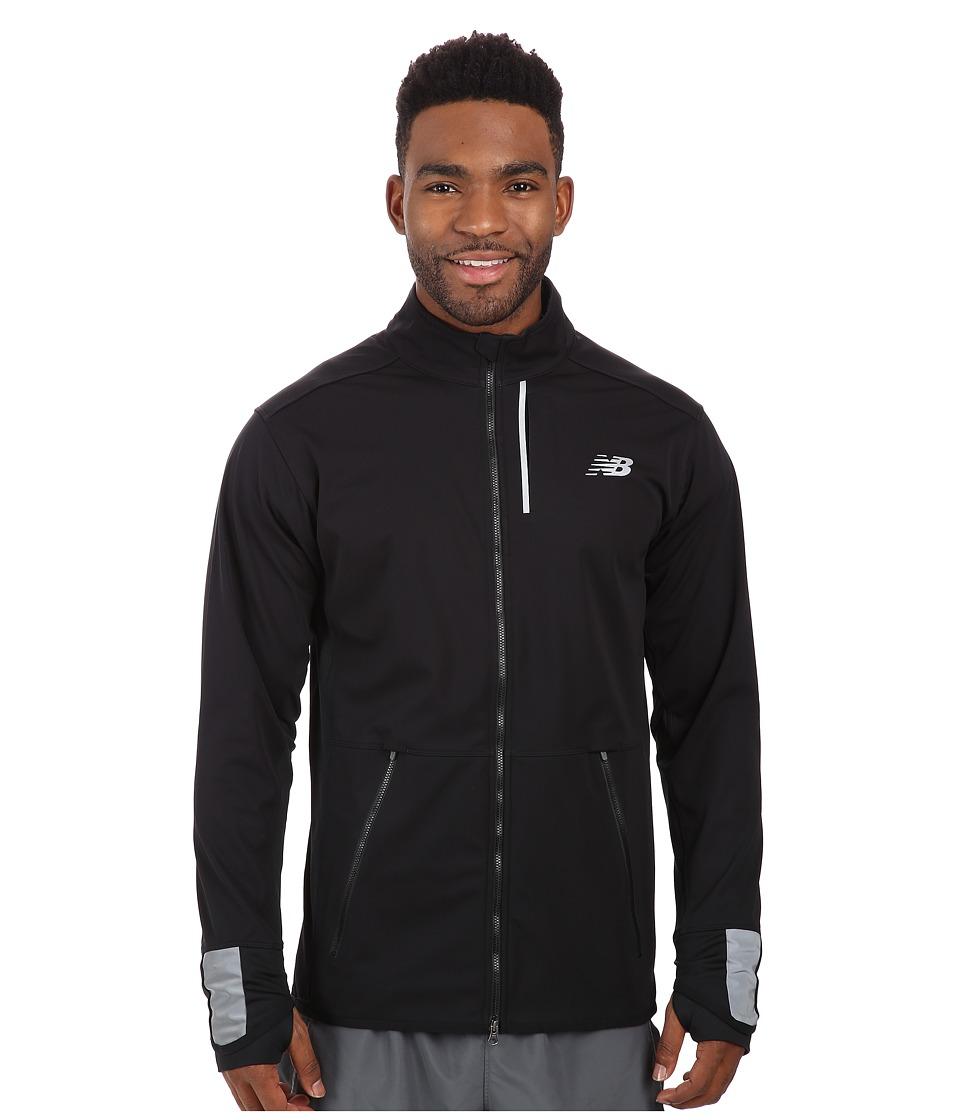 New Balance - Windblocker Jacket (Black) Men's Jacket