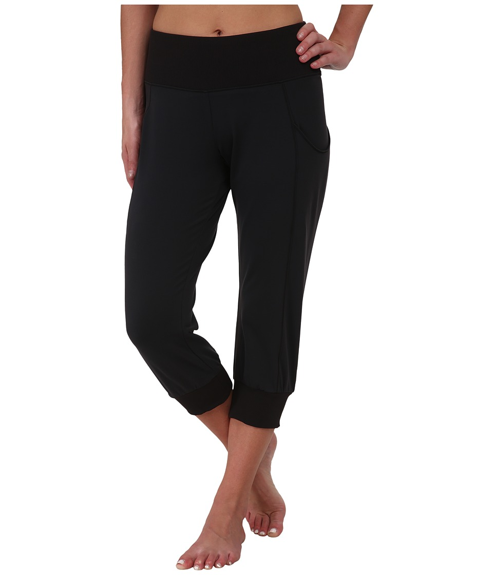 Lucy - Dance Workout Capri (Lucy Black) Women's Capri