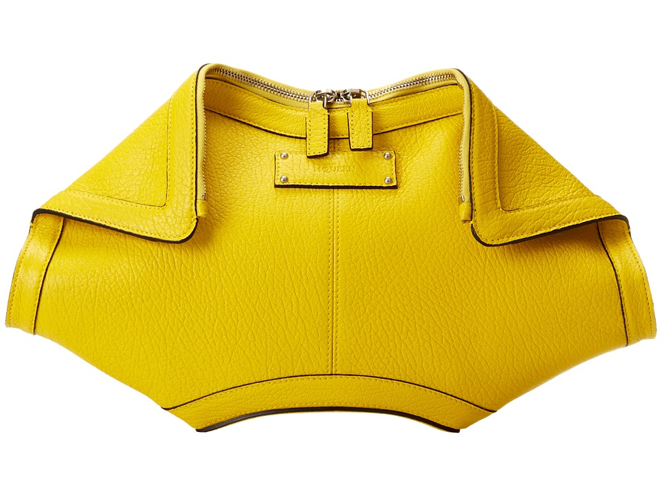 Alexander McQueen - De Manta Clutch (Imperial Yellow) Clutch Handbags