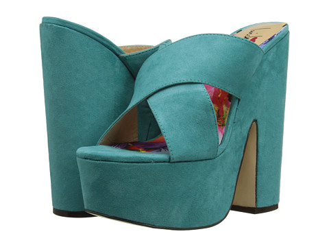 Luichiny - Bradshaw (Teal) High Heels