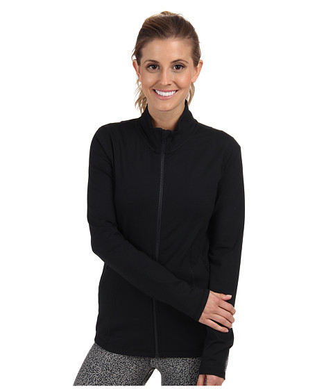 Zobha - Monica Shape Enhancing Jacket (Black) Women's Workout